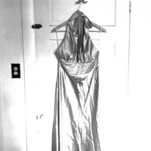 V-neck Formal Gown